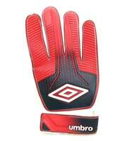 Umbro Swerve Red White Black Training Football Goal Keeper Gloves Size 6