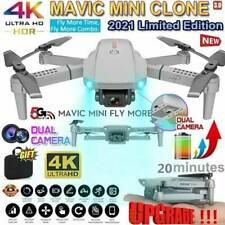 4K Pro WiFi Drohne FPV Faltbar Drone Dual Kamera Video Recorder RC Quadrocopter