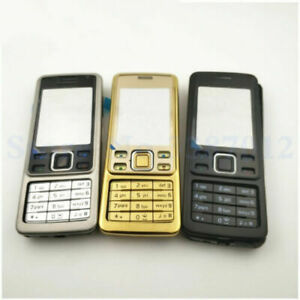 NEW Full Housing Cover Case Keypad Battery Door for Nokia 6300 Gold Black Silver
