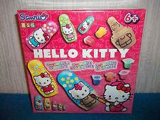 Hello Kitty - 5 bambole in legno per decorare-per ragazzi 6+ - NUOVO e SIGILLATO Set