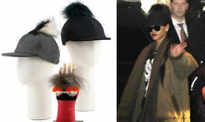 NWT FENDI MONSTER FUR POM POM BASEBALL CASHMERE WOOL CAP HAT