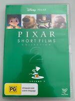 Pixar Short Films Collection : Vol 2 (DVD, PAL) Disney 12 Animated Short Film