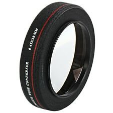 ZOMEI 58MM 0.45x HD Wide Angle Multi-Coated Lens Converter for Canon Nikon Sony