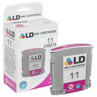 LD Remanufactured Replacement for HP 11 / C4837A Magenta Ink Cartridge