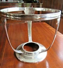 Ss United States Lines Chafing Dish Stand By Gorham. Estate Find!