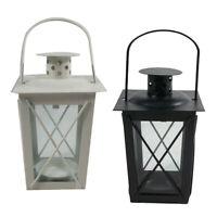 Lanterna da giardino con lanterna da appendere per portacandele porta tealight