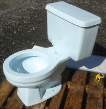 Vintage 1985 Dresden Blue American Standard Toilet -Complete- We Do Freight!