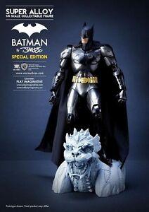 BATMAN SUPER ALLOY 1/6 LIMITED EDITION METALLIC PAINT PREMIUM JIM LEE FIGURE