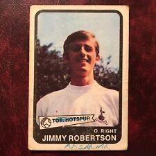 1968/69 A&BC Footballer Set JIMMY ROBERTSON #5 TOTTENHAM HOTSPUR SPURS