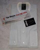 "Vintage New Deadstock Vantella by Van Heusen Collarless Shirt & Collar 15.5"" 34"""