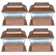 Woodside Set di 10 15mm Alluminio LED Decking Deck plinto LUCI