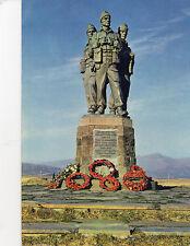 postcard Scotland The Commando Memorial Spean Bridge  Inverness shire posted