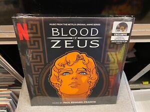 Paul Edward-Francis Blood Of Zeus 2x LP RED SPLATTER colored vinyl RSD 2021 NEW