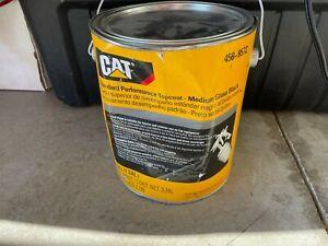 1 Gallon of Genuine OEM CATERPILLAR CAT Black Topcoat Paint 458-9572