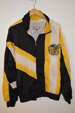 Vintage Iowa Hawkeyes Windbreaker Jacket 90's era Mens Size Large AS IS!