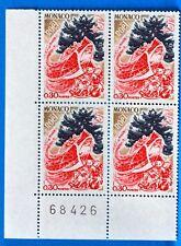 COLECCIÓN DE 4 SELLOS MÓNACO Nº 871 NAVIDAD NUEVA MNH BD63