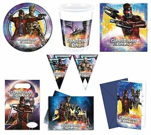 Marvel GUARDIANS OF THE GALAXY Birthday PARTY Tableware Supplies Decorations