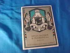 1925 Hart Schaffner + Marx Fall-Winter Mens Fashions Advertising Booklet
