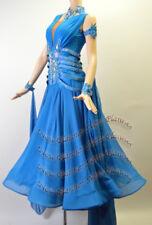 B7614 Ballroom standard swing Waltz Tango Rhythm us 6 Dance Dress