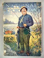 National Sportsman Magazine - April, 1917 ~~ Dixie Carroll cover