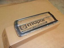 1976 1977 Plymouth Volare Custom Premier NOS MoPar Left TAIL LAMP BEZEL