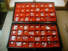 New~ 64pcs Mix Brand ~ Glass Watch crystal Lot ~Look Photo F Shape &size  #NC 24