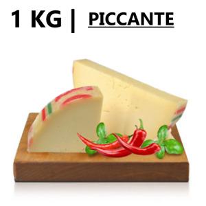 1 KG   Formaggio PROVOLONE PICCANTE - Trancio Sottovuoto da 1 Kg