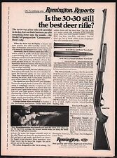 1976 REMINGTON Model 760 Gamemaster Pump-Action Shotgun AD