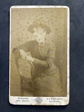 Victorian Carte De Visite CDV: Lady Named Jones 1884: Barnard: Bedford