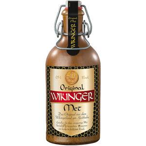 Original Wikinger Met Honigwein Met in Traditionsflasche 500ml