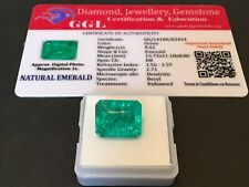 9.42 cts. Stunning Transparent Colombian Emerald Estate Collection Lot 11