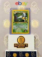 Koga's Beedrill 9/132 1st Edition NM Near Mint Gym Challenge Rare Holo Pokemon
