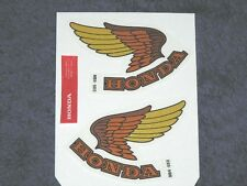 HONDA V65 MAGNA GAS TANK OEM DECALS.  IMPORTANT  INFO IN THE LISTING  BELOW !