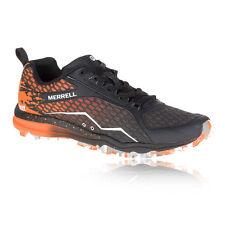 Merrell All Out Crush Tough Mudder Womens Orange Black Running Shoes Pumps