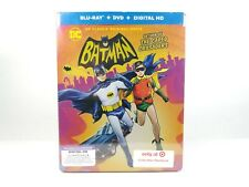 Batman Return Of The Caped Crusaders Steelbook Bluray/DVD/Digital Sealed NEW