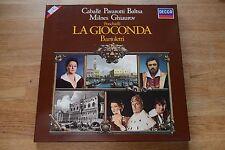 PONCHIELLI La Gioconda CABALLE PAVAROTTI BARTOLETTI  3LP box DECCA dig. 6.35542