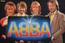 ABBA - A3 Poster (ca. 42 x 28 cm) - Clippings Fan Sammlung NEU