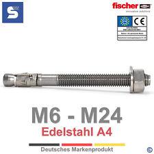 fischer FAZ II A4 Bolzenanker Edelstahl A4 | Schwerlastanker V4A | M6 - M24