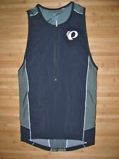 Pearl Izumi Elite Tri Jersey Size Medium Polyester Sleeveless Vest Triathlon