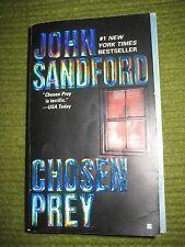 Vintage Original JOHN SANFORD Paperback Chosen Prey Novel 209