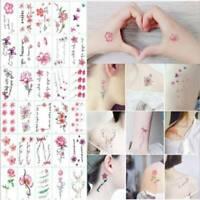 1 Sheet 30 Style Tattoo Temporary Tattoos Sticker Fake Tatoo Body Art Waterproof