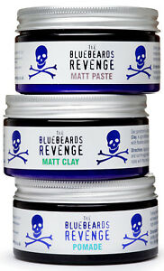 The Bluebeards Revenge Hair Styling Matt Clay, Matt Paste, Pomade & Gel - 100ml
