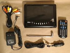 7 inch Portable Digital Lcd Tv Television by Digital Prism Color Tv W/ Remote