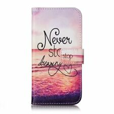 Flip Wallet Leather Card Slot Stand Phone Case Cover For Samsung Galaxy A3 2017