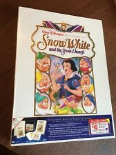 WALT DISNEY deluxe Video Edition SNOW WHITE In Wrap Like Just Purchased