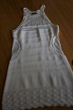 VENUS Off White Knit Lace Resort Swimsuit Cover up Beach Dress Size L