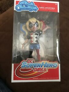 Funko Rock Candy DC Super Hero Girls: Harley Quinn Vinyl Collectible #12059 NEW