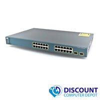 Cisco WS-C3560-24TS-S Catalyst 3560 24-Port 10/100 Fast Ethernet Network Switch