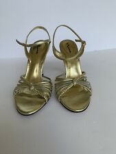 Nina Pumps Women Gold Size 7 M