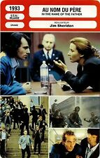 Movie Card. Fiche Cinéma. Au nom du père / In the name of the father (USA) 1993